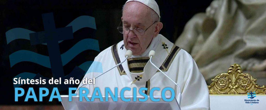 Síntesis del año del Papa Francisco